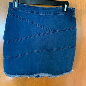 BCBGENERATION denim mini skirt